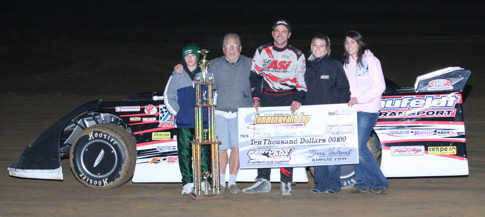 Brian birkhofer takes commonwealth cup win at kentucky for Speedway motors lake charles
