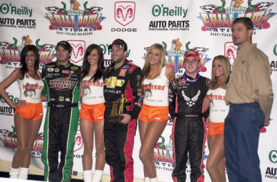 Tony Stewart Snares 21st Annual O Reilly Chili Bowl Nationals Finale