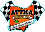 Schlenk Tops Late Model Field at Attica Raceway Park