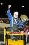 Hines wins the USAC Midget Series race at Lucas Oil Raceway in Indianapolis.