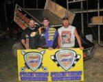 Kaley Gharst topped the 21 car field of Speedway Motors ASCS Midwest and Warrior Region drivers at U.S. 36 Raceway this past Friday the thirteenth. Photo Credit: John Lee