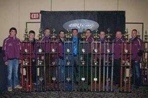 Shirley & Gilpin Share Stage At Saturday Night's 29th Annual DIRTcar Racing UMP 'Night of Champions' Awards Banquet