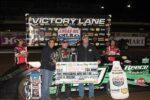 Jimmy Owens in Victory Lane with Dan Robinson and Chris Davis