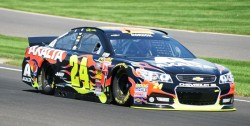 Jeff Gordon at Indy