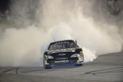 Jones celebration burnout