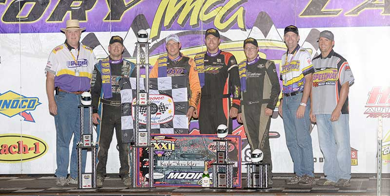 Kyle Strickler & the top 4 finishers