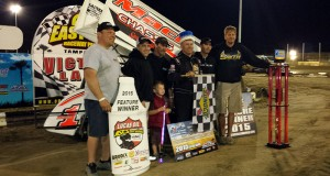 Mark Smith grabbed the win in the 17th annual King of the 360's and 14th annual Ronald Laney Memorial. (ASCS Photo)
