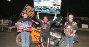 "Danny Lasoski claimed $6000 and his second ""Air Capital Shootout"" victory. Serena Dalhamer photo"