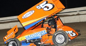 Brad races at Bubba Raceway Park (Bryan Hulbert Photo)