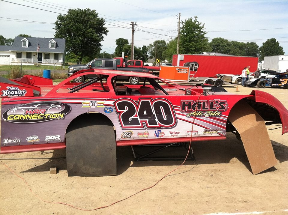 Ohio driver Doug Drown and his 2015 ride  From Dirt Racing